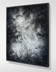Jason Hallman, Stephen Stum, minimalist, modern art, stallman, cloud atlas, gradient, black and white art