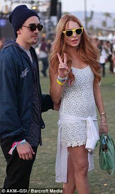 Lindsay Lohan @ Coachella