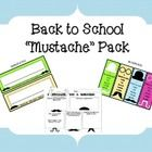 "Fun back to school freebie!  I will use the 2 ""I mustache you a question"" forms to get to know my students at the beginning of the year.  I may also use them in small groups as an ice breaker activity or in guidance to talk about diversity - having similarities and differences among peers."
