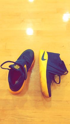 hot sale online cdfa7 7925b Kyries~ Jays basketball shoes. Christina Coop · Basketball~ · The Nike Kyrie  ...