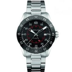 Hamilton is the leading brand for automatic watches in the price segment 500 - 2000 USD. The Hamilton watches combine the American Spirit with the Swiss precision and latest technologies. Stainless Steel Bracelet, Stainless Steel Case, Rolex Watches, Watches For Men, Army Watches, Fine Watches, Hamilton Khaki Pilot, Automatic Watch, Casio Watch