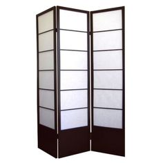 Shogun 3 Panel Room Divider   Espresso : Target · Panel Room DividerPrivacy  ScreensWindow ...