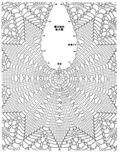 Blusa Bege em  Crochê Ponto Abacaxi com Gráficos