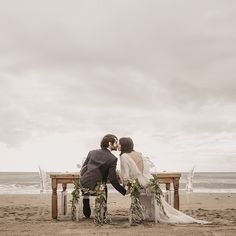 Boda en la playa - Beach Wedding Mediterranean Glam Chic: nuestra sesión editorial para Tendencias de Bodas | Wedding Planners Paris Berlin Bodas Barcelona -