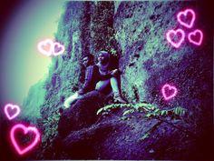 pantai menganti....  love love love.....