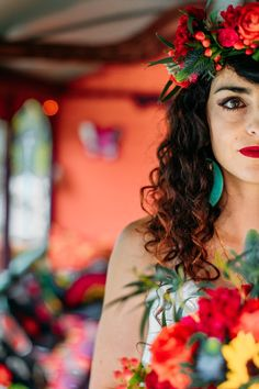 FESTIVAL BRIDES | Provence Meets The Orient: A Colourful Gypsy Chic Bridal Shoot