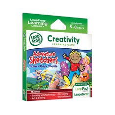 "LeapFrog - Explorer Learning Game: Adventure Sketchers! Draw, Play, Create English Edition - LeapFrog - Toys""R""Us"