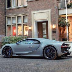 Grey Bugatti Chiron