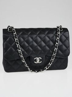 70b696cb37 Die 22 besten Bilder von Chanel Jumbo flap bag | Chanel handbags ...
