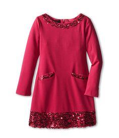 Biscotti Glam It Up Long Sleeve Dress (Little Kids/Big Kids)