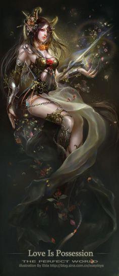 Awesome Digital Artwork by Beijing, China based digital artist Xueyinye.