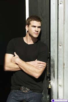(i may have to start a hunger games board at this rate) Liam Hemsworth