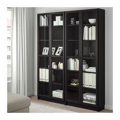 Ikea regal billy oxberg  BILLY Bookcase Dark blue 160x202x30 cm | Ikea billy, Shelves and ...