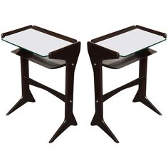 Pr Of Cesare Lacca End Tables | From a unique collection of antique and modern end tables at http://www.1stdibs.com/furniture/tables/end-tables/