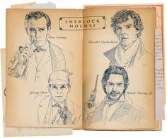 sherlock holmes fan art | Sherlock Holmes 007 by 403shiomi on deviantART