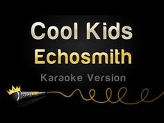 Cool Kids - Echosmith Karaoke Track   Sing King Karaoke on YouTube Karaoke Party, Karaoke Songs, Cue The Music, Sia Chandelier, Karaoke Tracks, Uptown Funk, Musicals, Singing
