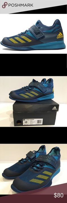 Adidas Crazy Power Weightlifting Shoes (ALL SIZES) Adidas Crazy Power  Performance Weightlifting Shoes Mens
