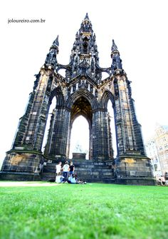 Scott Monument #Edinburgh #Scotland #Europe #landscape #photography #travel