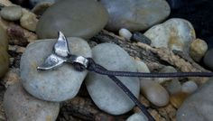 Metal Pendant Necklace - Whale Tail at theBIGzoo.com, a family-owned toy store.