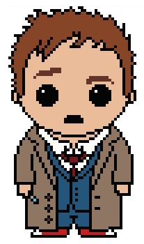 Looking for your next project? You're going to love Doctor Who: The 10th Doctor  by designer Shylah Addante.