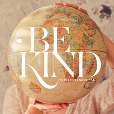 Today is officially World Kindness Day, but let's strive for more kindness every day of the year. Look past any and all boundaries and be kind to all walks of life.
