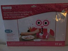 Valentines Box Decorating OWL Kit 22 piece ** Check out this great product.