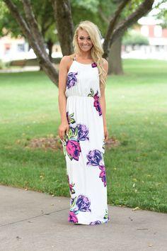 ddc8e854b0 Don t Lose Faith Floral Maxi Dress – The Pulse Boutique Church Outfits