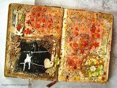 Art journal, mixedmedia