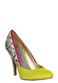 Pink & Pepper Hayler Heel