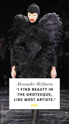 Check out our incredible guide to the most amazing fashion quotes ever. Alexander Mcqueen Quotes, Alexander Mcqueen 2018, Alexander Mcqueen Savage Beauty, Famous Fashion Quotes, Rebel Quotes, Fashion Seasons, Who What Wear, Body Types, Dress For You