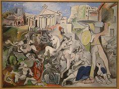 Pablo Picasso: L'Enlèvement des Sabines (1962)