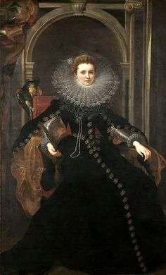 Portrait of Marchesa Veronica Spinola Doria Peter Paul Peter Paul Rubens, Marchesa, Veronica, Victorian Era Dresses, Italian Paintings, Dutch Golden Age, Spanish Fashion, Period Costumes, Baroque Fashion