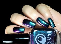 Fashion Polish: Doctor Lacquer ChromoZones multichromes collection review
