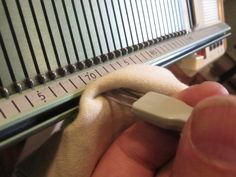 Machine Greetings and Welcome to Superba Knitting ™ . In this post I will share with you the basic oiling and cleaning process I routinely fol. Brother Knitting Machine, Knitting Machine Patterns, Knitting Needles, Knitting Stitches, Hand Knitting, Couture, Knitting Projects, Knitted Hats, Knit Crochet