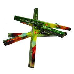 http://www.maniasemanias.com/produto/incenso-vareta-sagrado-coracao-de-jesus - INCENSO VARETA SAGRADO CORAÇÃO DE JESUS - Objetivo: Redenção e esperança. - Embalagem: Caixa com 8 varetas - Marca: Sac