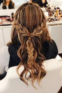 Formal Hairstyles, Messy Hairstyles, Pretty Hairstyles, Faux Dreads, Dreads Styles, Braids With Curls, Types Of Braids, Hair Dos, Gorgeous Hair