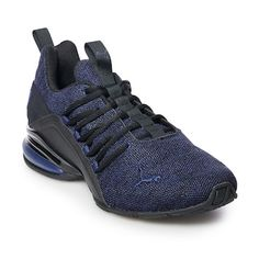 Pick up the pace with these men's PUMA Axelion shoes. Mens Puma Shoes, Men S Shoes, Boys Shoes, Nike Shox Shoes, Pumas Shoes, Adidas Shoes, Top Running Shoes, Hiking Fashion, Workout Shoes