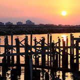 Lake Pontchartrain (Louisiana) - great fishing and crabbing.