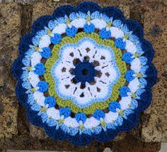 sunshine and a sewing basket: Maybelle Flower Mandala Pattern
