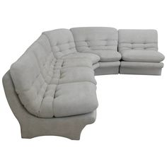 Low Slung 1970s Style Sectional Sofa — Flow Modern | Palm Springs, CA