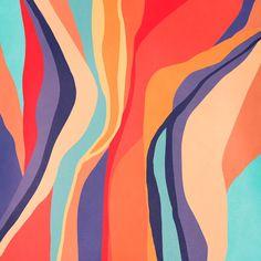 Psychedelic pattern 03 Comforters by ViviGonzalezArt - Queen: x Aesthetic Iphone Wallpaper, Wallpaper Backgrounds, Wallpapers, Painting Inspiration, Art Inspo, Posca Art, Psychedelic Pattern, Cute Patterns Wallpaper, Mellow Yellow