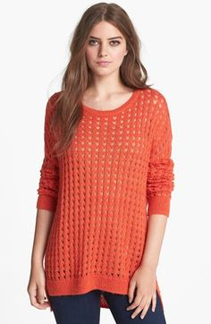 Trouvé Open Stitch Sweater available at #Nordstrom