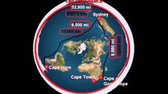 Earth's True Size And Shape, Flat Earth