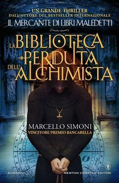 """""""La biblioteca perduta dell'alchimista"""" di Marcello Simoni - Marcello Simoni descrive molto bene l'ambientazione e la cultura storica in cui la storia si svolge, anche la storia è ben congegnata, ma nella lettura ho incontrato un po' di attrito nel senso che in alcuni punti avrei gradito un ritmo più sostenuto."""
