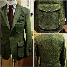 by Zurvita Zeal Wellness Mens Fashion Suits, Mens Suits, Norfolk Jacket, Suit Combinations, Tweed Run, Man Dressing Style, Elegant Man, Bespoke Tailoring, Men Formal
