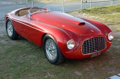 Photographs of the 1948 Ferrari 166 MM. Coachwork by Touring. Jaguar Xj13, Car Guide, Ferrari Car, Collector Cars, Car Pictures, Concept Cars, Cars And Motorcycles, Touring, Super Cars