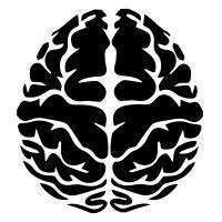 Brain Icon Body Drawing, Brain Drawing, Brain Vector, Brain Icon, Stencils, Mental Health Art, Airbrush T Shirts, Brain Logo, Brain Art