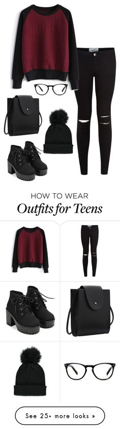 """""""Untitled #205"""" by fofo-moon on Polyvore featuring Chicwish, Forever 21 and Muse"""