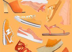 Orange ist zwar allgemein als knallig und leuchtend bekannt, kann aber auch ganz anders. Wir haben fast alles, was es an der Farbfront zu bieten gibt.