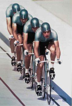 Italian pursuit team 1984 | by pipco82
